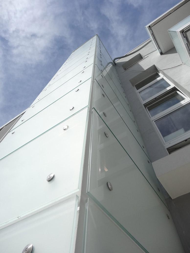 condominio pesaro involucri ventilate in alluminio