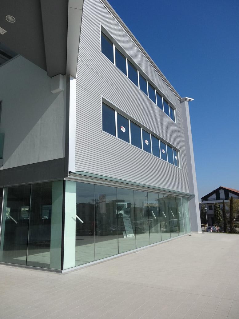 involucri ventilati in alluminio delta costruzioni sea infissi