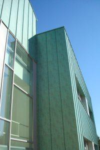 scuola media involucri ventilate in alluminio