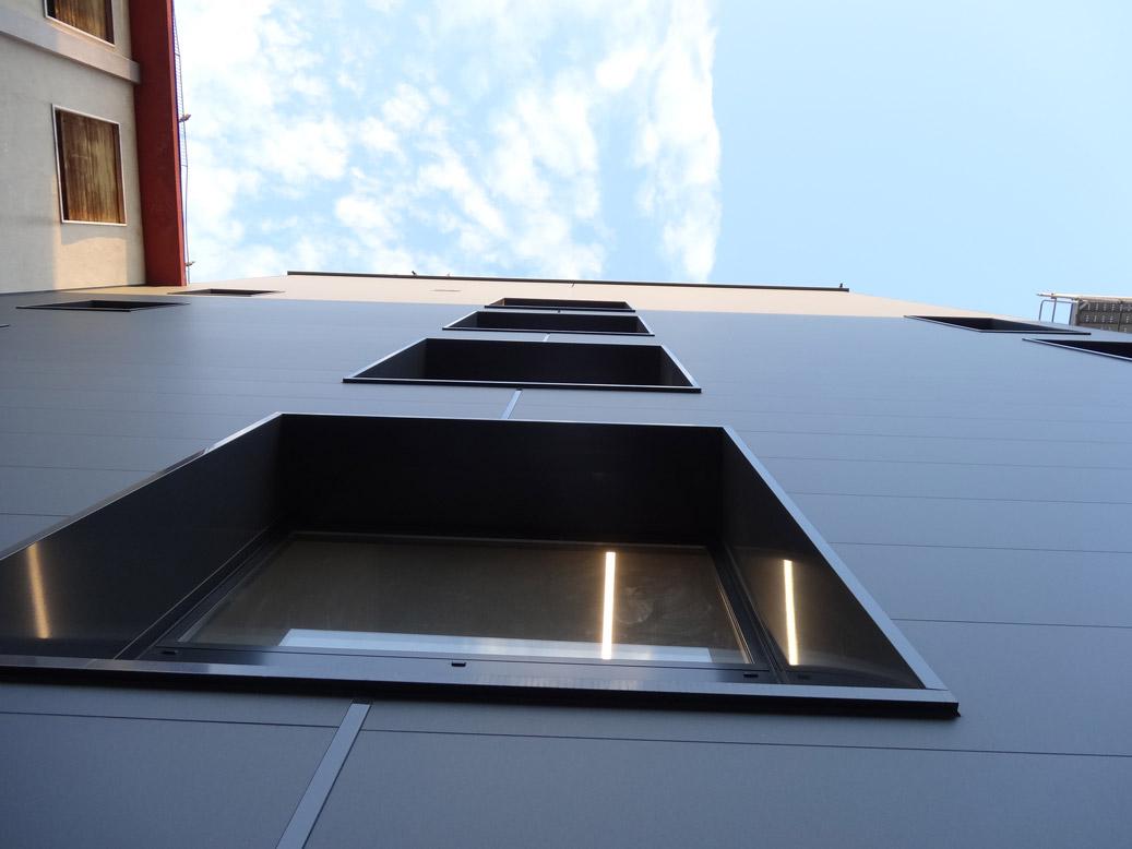 villa maria involucri ventilate in alluminio sea infissi
